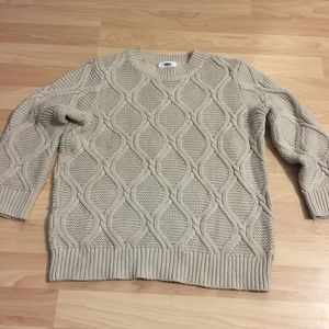 Old Navy Crop Sweater